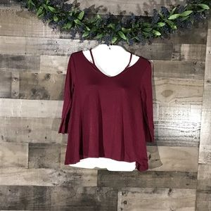 So Authentic American Heritage Cage Blouse~M